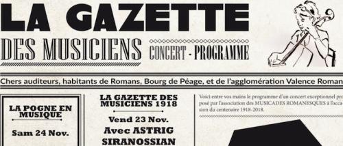 Musicades Romanesques @ Cité de la Musique | Romans-sur-Isère | Auvergne-Rhône-Alpes | France