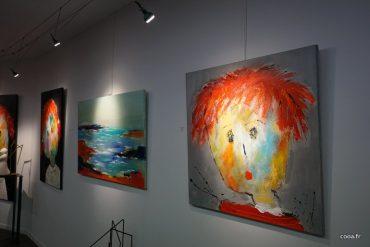Christine Barres ouvre la nouvelle saison d expo de la galerie Bost