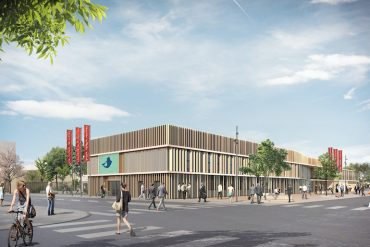 Le futur palais des congrès et des expositions à Valence