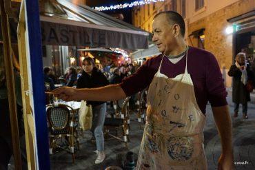 Ricardo Ponce envahit la rue de l'Hotel de Ville de Valence