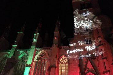 Le noël des Lumières à Saint-Antoine-L'Abbaye