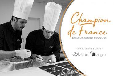 2 Drômois champion de France des traiteurs 2020