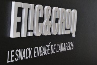 Etic&Croq, le snack de  L'ADAPEI à la cité de la chaussure