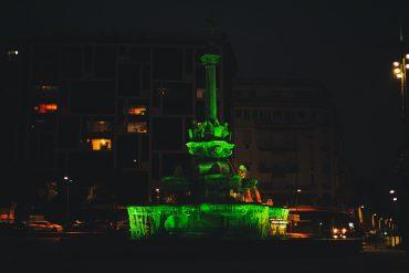 Une nouvelle mise en lumière de la Fontaine monumentale de Valence